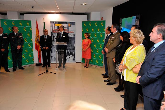 """Inaugurada la exposición de """"La Guardia Civil frente al Terrorismo, por la libertad, por las víctimas""""."""