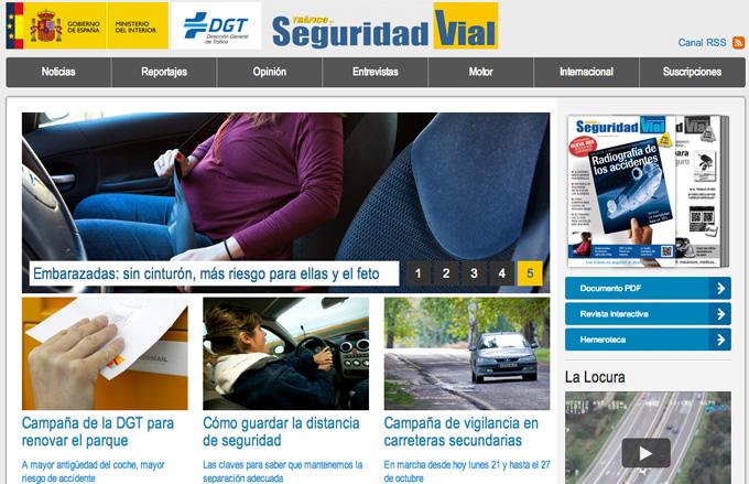 """La revista de la DGT """"Tráfico y Seguridad Vial"""" estrena nuevo formato"""