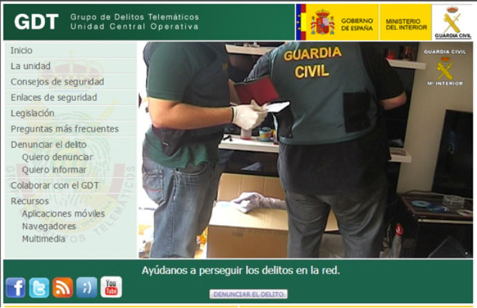 ¿Conoces el Grupo de Delitos Telemáticos de la Guardia Civil?