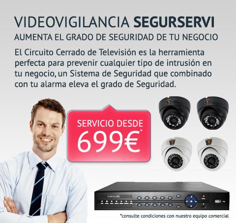 oferta videovigilancia empresa