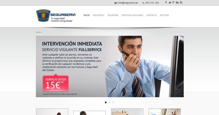 El Grupo Segurservi estrena hoy su nueva página web